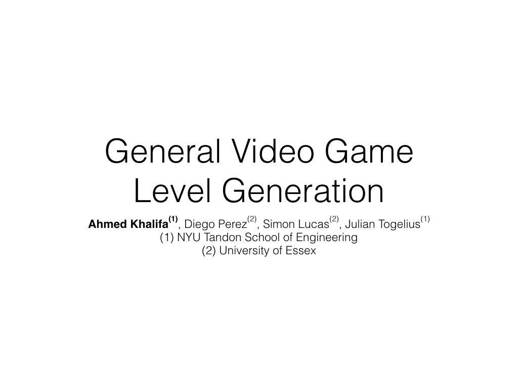 GVG-LG Framework GECCO.001